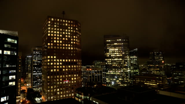 Autumn at Vancouver, Evening-Night-Morning 1/6