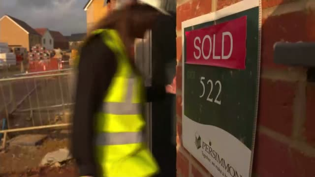 reaction to abolition of stamp duty for first time buyers; int jordan interview sot cutaway reporter ext first time buyer anthony ellis and his... - responsibility stock videos & royalty-free footage