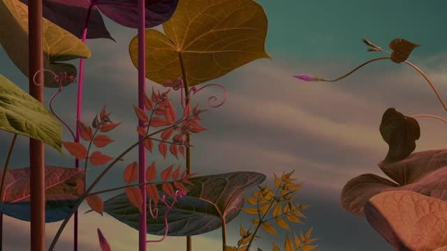 autumn fairy garden in motion - fairy stock videos & royalty-free footage