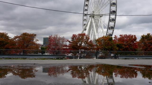 モントリオールの秋 - モントリオール旧市街点の映像素材/bロール
