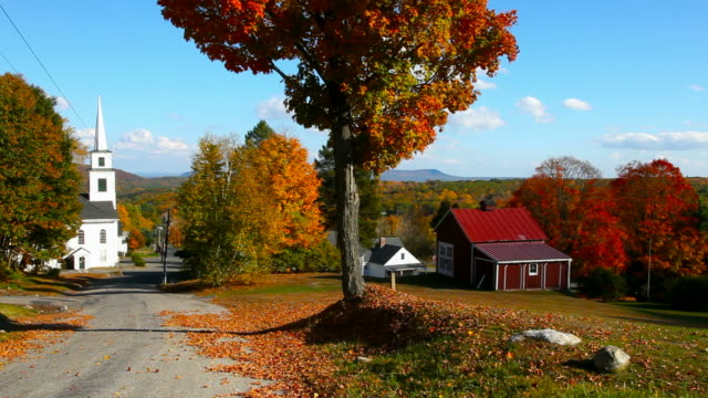 autumn in new england - new england usa stock videos & royalty-free footage