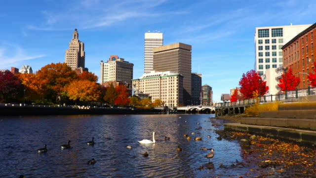 Autumn in Providence, Rhode Island