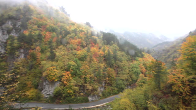 Autumn in the Buynovsko Gorge in Rhodope Mountains, Bulgaria