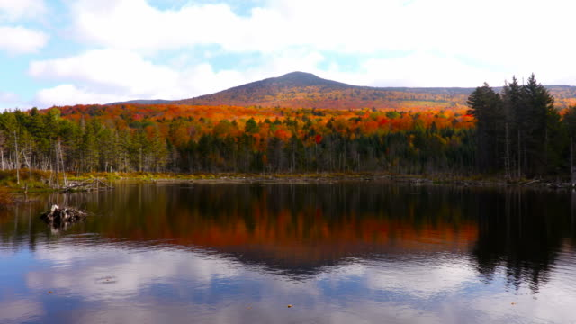 Autumn in the White Mountains Region of New Hampshire