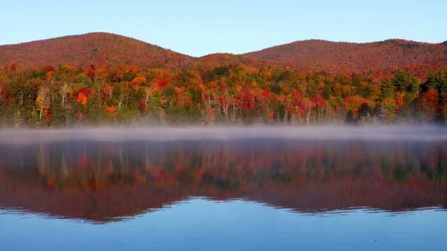 autumn in vermont - four seasons stock videos & royalty-free footage