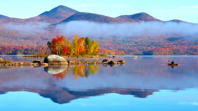 autumn in vermont - vermont stock videos & royalty-free footage
