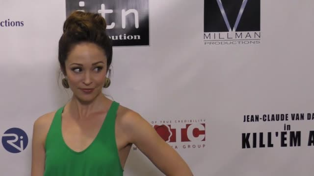 Autumn Reeser at the Premiere Of Destination Films' 'Kill 'em All' Arrivals on June 06 2017 in Los Angeles California