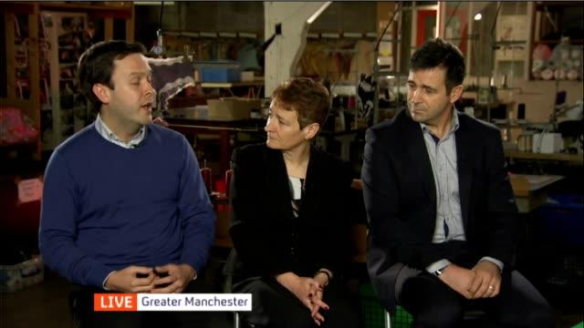 Greater Manchester Middleton Headen Quarmby factory DISCUSSION featuring Fiona Wilson / Matthew Oakley / Juergen Maier