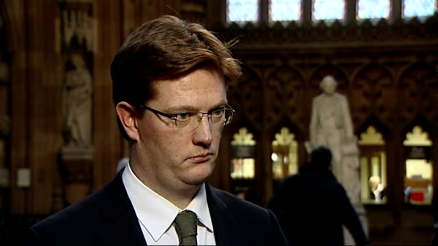 interview Danny Alexander ENGLAND London Westminster INT Danny Alexander interview SOT country has financial problems / further difficult decisions /...