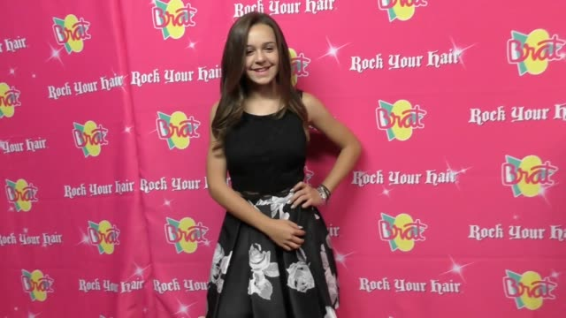 ava bianchi at the rock your hair presents - rock back to school concert and party at avalon on september 30, 2017 in hollywood, california. - rock moderno video stock e b–roll