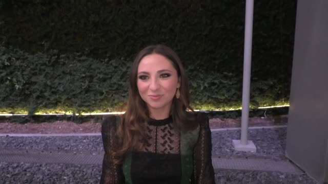 interview ava cantrell on her title role in abigail outside the high strung free dance premiere at arclight cinemas in hollywood on october 10 2019... - arclight cinemas hollywood stock videos & royalty-free footage