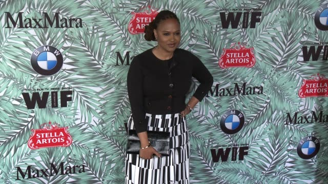 ava duvernay at 10th annual women in film pre-oscar cocktail party presented by max mara and bmw at nightingale plaza on february 24, 2017 in los... - nightingale stock videos & royalty-free footage