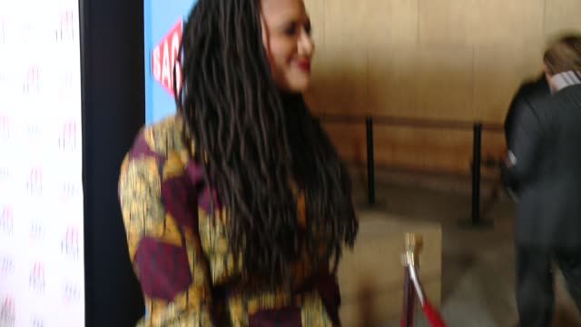 ava duvernay at afi fest 2014 presented by audi exclusive first look of selma at the egyptian theatre on november 11 2014 in hollywood california - grauman's egyptian theatre stock videos & royalty-free footage