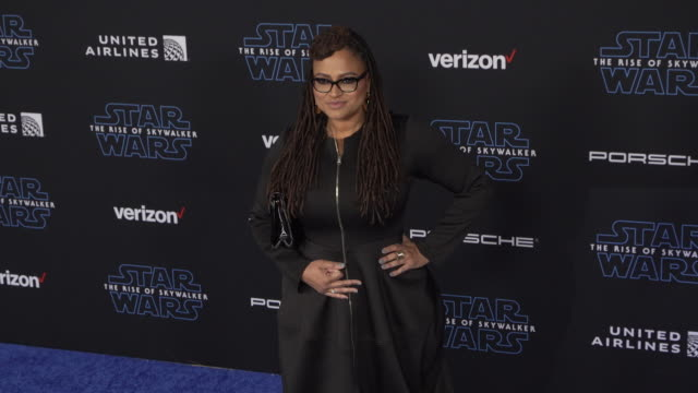 """ava duvernay at the premiere of disney's """"star wars: the rise of skywalker"""" on december 16, 2019 in hollywood, california. - star wars stock videos & royalty-free footage"""