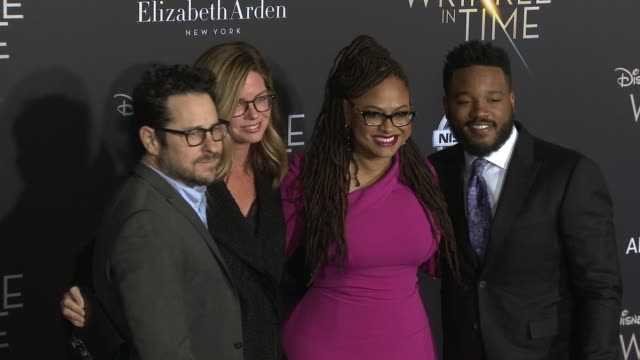 ava duvernay jj abrams katie mcgrath and ryan coogler at the a wrinkle in time world premiere at the el capitan theatre on february 26 2018 in... - ryan coogler stock videos and b-roll footage