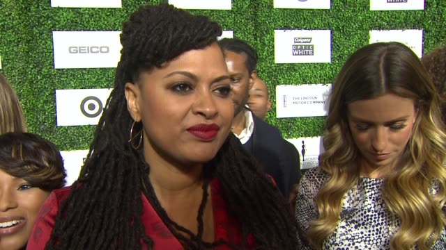 interview ava duvernay on being at the event the importance of the event if more movies about the black experience will be made at the 7th annual... - beverly hills hotel stock videos and b-roll footage
