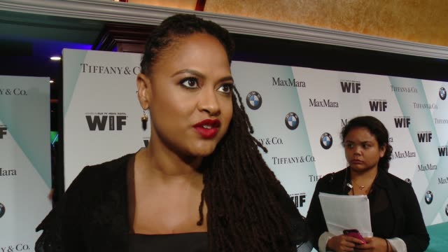INTERVIEW Ava DuVernay on being honored tonight what the event means and how she satisfies herself as an artist at Women In Film 2015 Crystal Lucy...