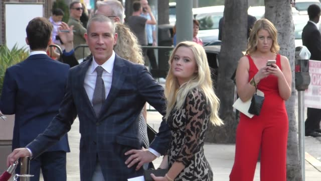 ava phillippe arriving to the home again premiere at the dga in west hollywood in celebrity sightings in los angeles, - アメリカ監督組合点の映像素材/bロール