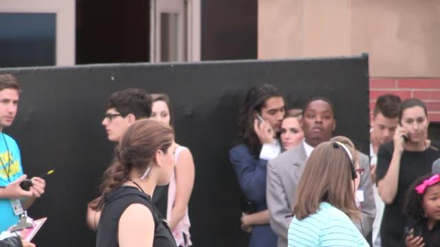 Avan Jogia Zoey Deutch departing Nickelodeon's 27th Annual Kids' Choice Awards Celebrity Sightings in Los Angeles on March 29 2014 in Los Angeles...