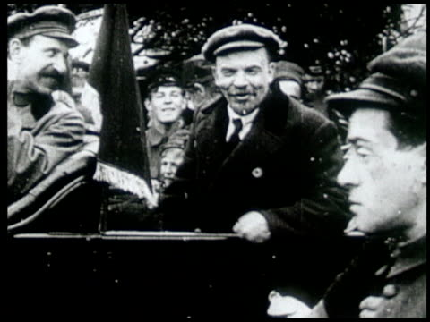 Avant garde film depicting Vladimir Lenin's life and death and the different people of Russia