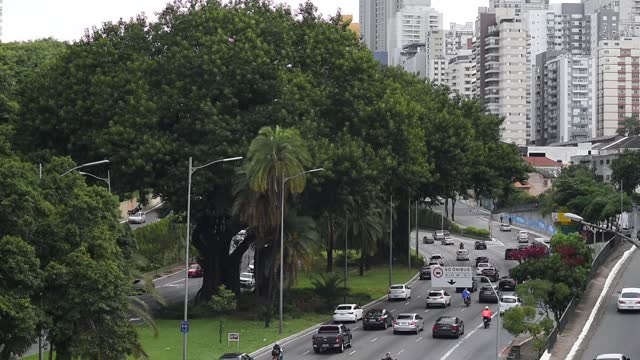 avenida 23 de maio, são paulo - 23 may avenue - avenue stock videos & royalty-free footage