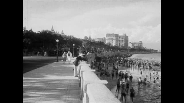 vídeos de stock, filmes e b-roll de avenida beira mar and canal, rio de janerio, brazil - 1930