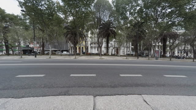 avenida da liberdade avenue in lisbon - liberdade stock videos & royalty-free footage