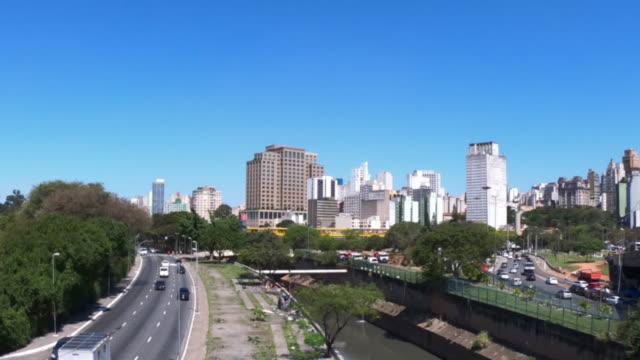 avenida do estado, são paulo - brazil - avenida stock videos & royalty-free footage