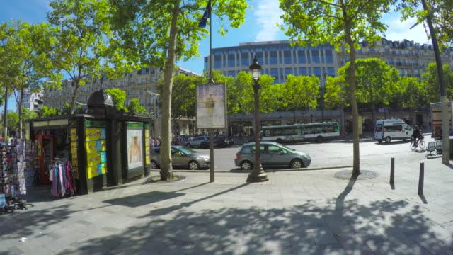 Avenue des  Champs-Elysees in Paris.