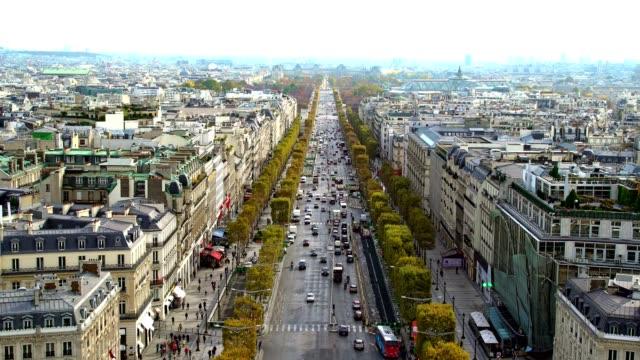 Avenue des ChampsElysees Paris France