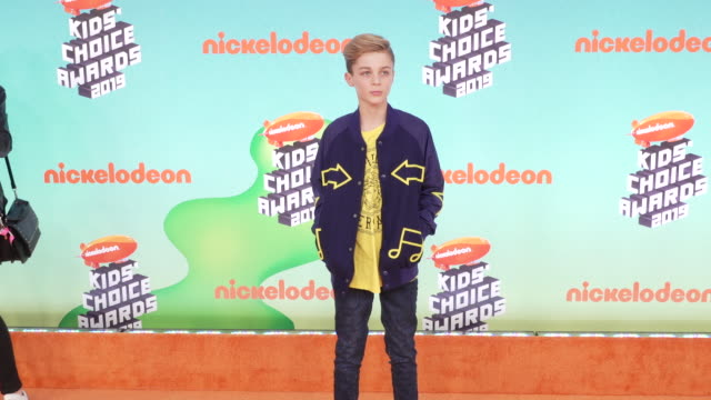 avi angel at the nickelodeon's 2019 kids' choice awards at galen center on march 23, 2019 in los angeles, california. - nickelodeon stock videos & royalty-free footage