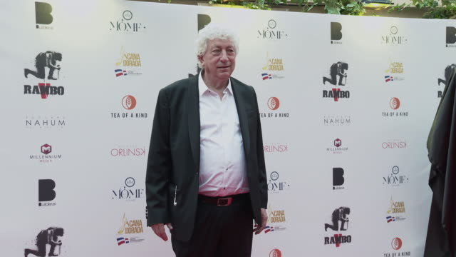 avi lerner at the sylvester stallone millennium media dinner cocktail reception arrivals on may 24 2019 in cannes france - 72nd international cannes film festival stock videos and b-roll footage