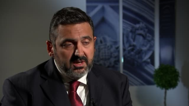 british airways chief executive to compensate those affected by data breach england london westminster int alex cruz interview sot - data breach stock videos and b-roll footage