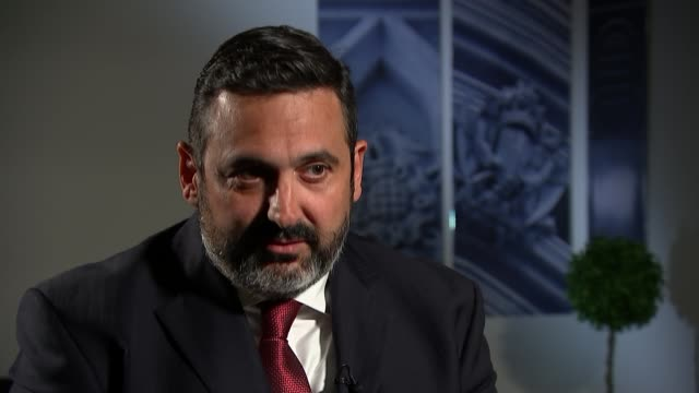 british airways chief executive to compensate those affected by data breach england london int alex cruz interview sot - data breach stock videos and b-roll footage