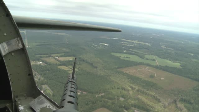 Aviation enthusiasts gathered to see the Memphis Belle a WWII era B17 Flying Fortress in Columbia South Carolina