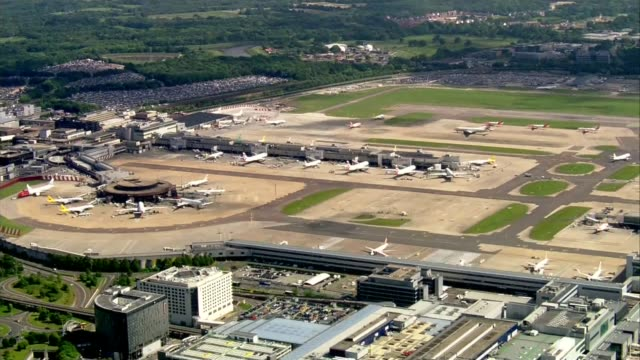 Future of Monarch ailine in doubt R270517014 ENGLAND West Sussex Gatwick Airport Gatwick Airport