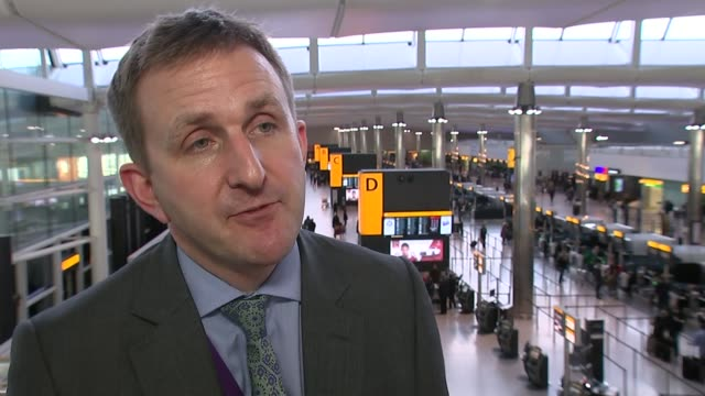 possible delay on heathrow expansion decision; int matt gorman interview sot harmondsworth: ext the crown pub gable store post office 'stop heathrow... - christine taylor stock videos & royalty-free footage