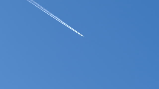 aviation - vapour trail stock videos & royalty-free footage