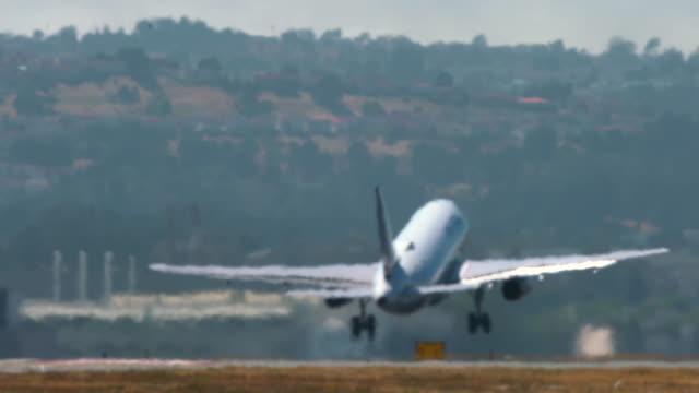 aviation - partire video stock e b–roll