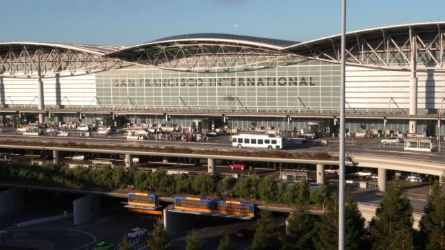 aviation - san francisco international airport stock videos & royalty-free footage