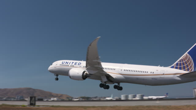 aviation - boeing 787 stock videos and b-roll footage