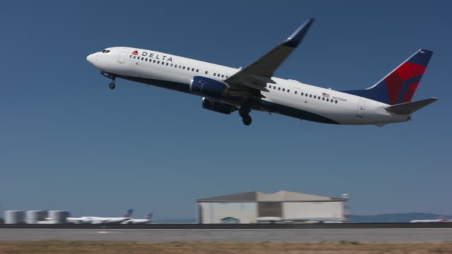 aviation - delta stock videos and b-roll footage