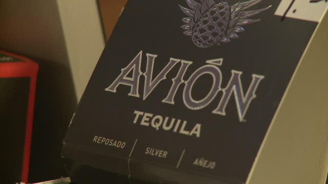 of avion tequila store displays - avion stock videos & royalty-free footage