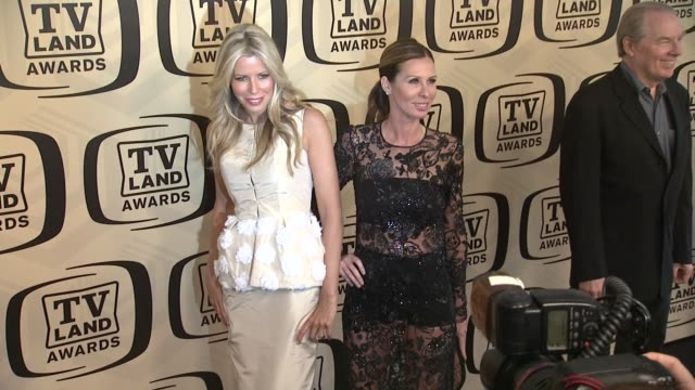 aviva drescher carole radziwill at tv land awards 10th anniversary arrivals at lexington avenue armory on april 14 2012 in new york ny - tv land awards stock videos and b-roll footage