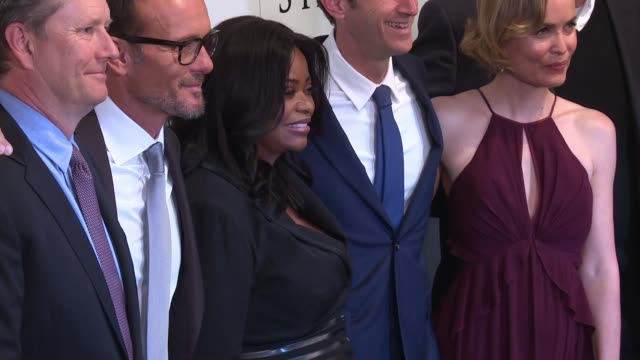 Avraham Aviv Alush Tim McGraw Octavia Spencer and Radha Mitchell at The World Premiere Of 'The Shack' at MOMA on February 28 2017 in New York City
