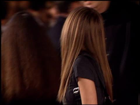 Avril Lavigne at the '8 Mile' Premiere on November 6 2002