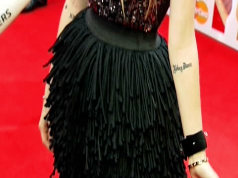 Avril Lavigne at the Brit Awards 2011 at London England