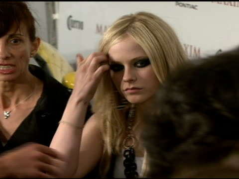 Avril Lavigne at the Maxim's 8th Annual Hot 100 Party at Ono at The Gansevoort Hotel in New York New York on May 16 2007