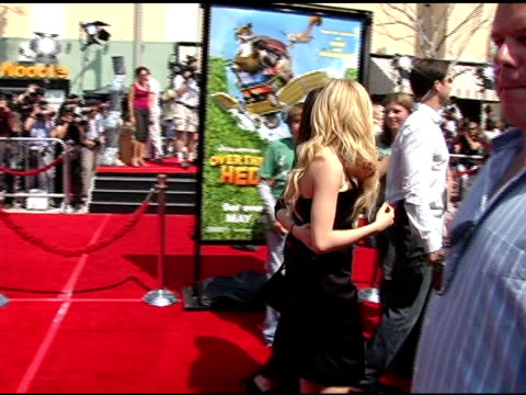 Avril Lavigne at the 'Over The Hedge' Los Angeles Premiere on April 30 2006