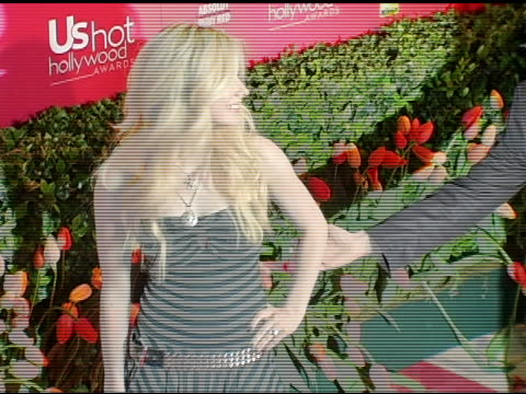 Avril Lavigne at the US Weekly Hot Hollywood Awards at Republic Restaurant and Lounge in Los Angeles California on April 26 2006